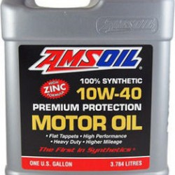 AMSOIL SYNTHETIC PREMIUM PROTECTION MOTOR OIL 10W40 1G