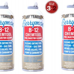 BERRYMAN B-12 CHEMTOOL FUEL INJECTOR CLEANER 444 ML X 2 + 1 ΔΩΡΟ