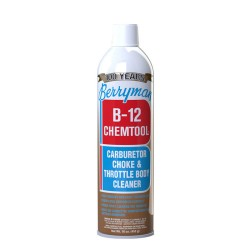 BERRYMAN B-12 CHEMTOOL CARBURETOR  CHOKE AND THROTTLE BODY CLEANER 453 GR
