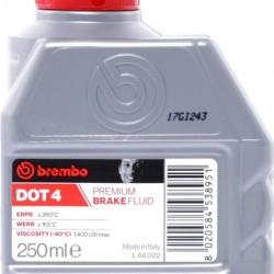 BREMBO DOT 4 ΥΓΡΟ ΦΡΕΝΩΝ 250 ML