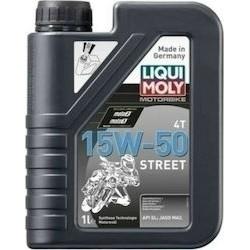 LIQUI MOLY MOTORBIKE STREET 15W50 1 LT