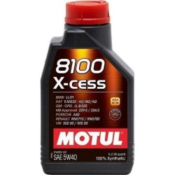 MOTUL 8100 X-CESS 5W40 1 LT