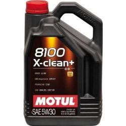 MOTUL 8100 X-CLEAN+ 5W30 5 LT