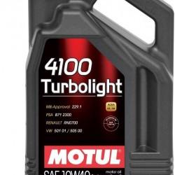 MOTUL 4100 10W40 TURBO LIGHT 4 LT