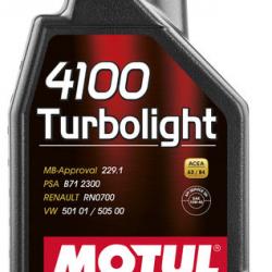 MOTUL 4100 10W40 TURBO LIGHT 1 LT