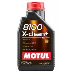 MOTUL 8100 X-CLEAN+ 5W30 1 LT