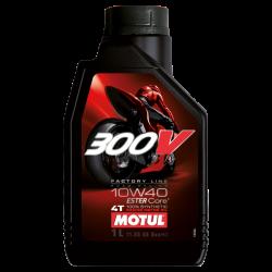 MOTUL 300V FACTORY LINE 4T 10W40 1LT