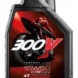 MOTUL 300V FACTORY LINE 4T 15W501LT