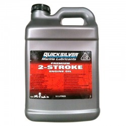 QUICKSILVER PREMIUM 2-CYCLE OUTBOARD OIL 10LT