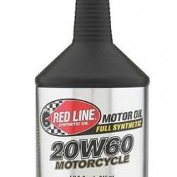 RED LINE 20W60 MOTORCYCLE OIL 946 ML