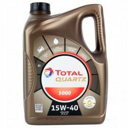 TOTAL QUARTZ 5000 15W40 4LT