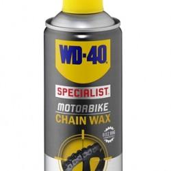 WD-40 SPECIALIST MOTORBIKE CHAIN WAX 400 ML